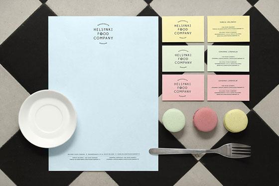 广州VI设计为食品公司创建的商标