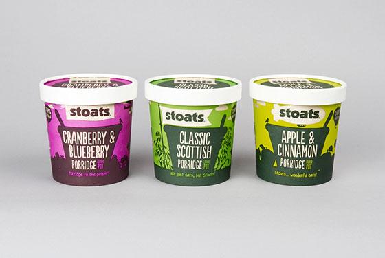 广州品牌设计为燕麦公司开发新包装设计